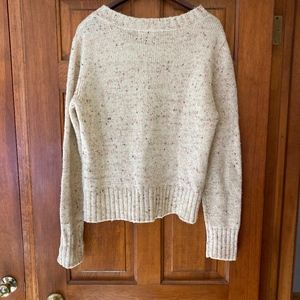 Anthropologie Sweaters - Anthropologie Buttoned Berm Sweater L